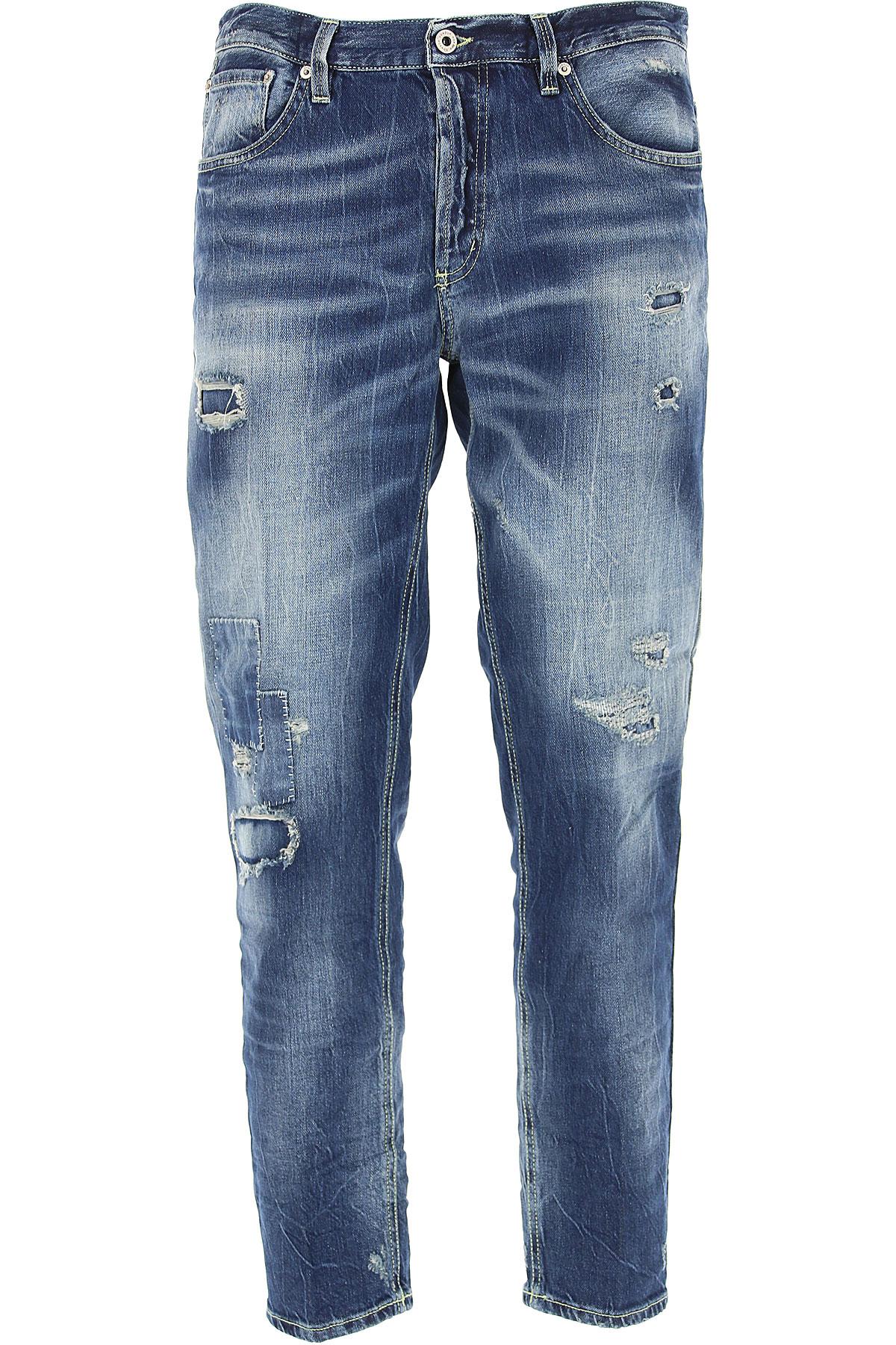 Dondup Jeans, Denim Blue, Cotton, 2017, 31 32 33 34 36