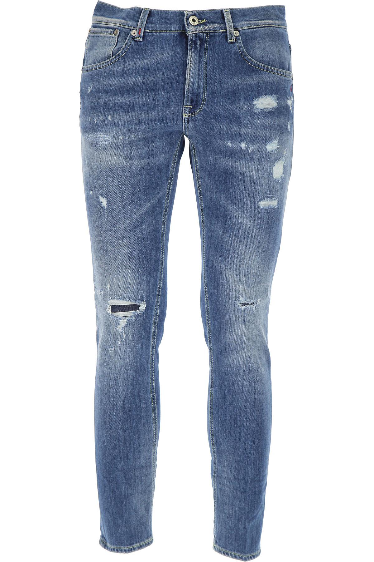 Dondup Jeans On Sale, Denim Blue, Cotton, 2017, 29 30 31 32 33 34