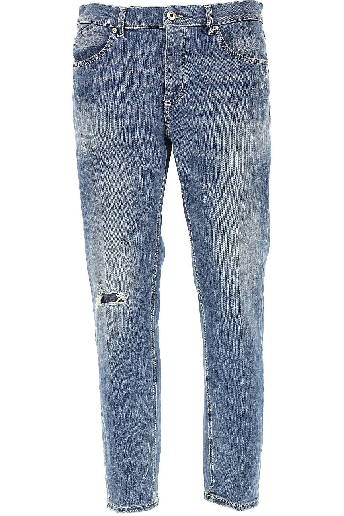 Dondup Jeans, Denim Blue, Cotton, 2017, 30 32 34 36