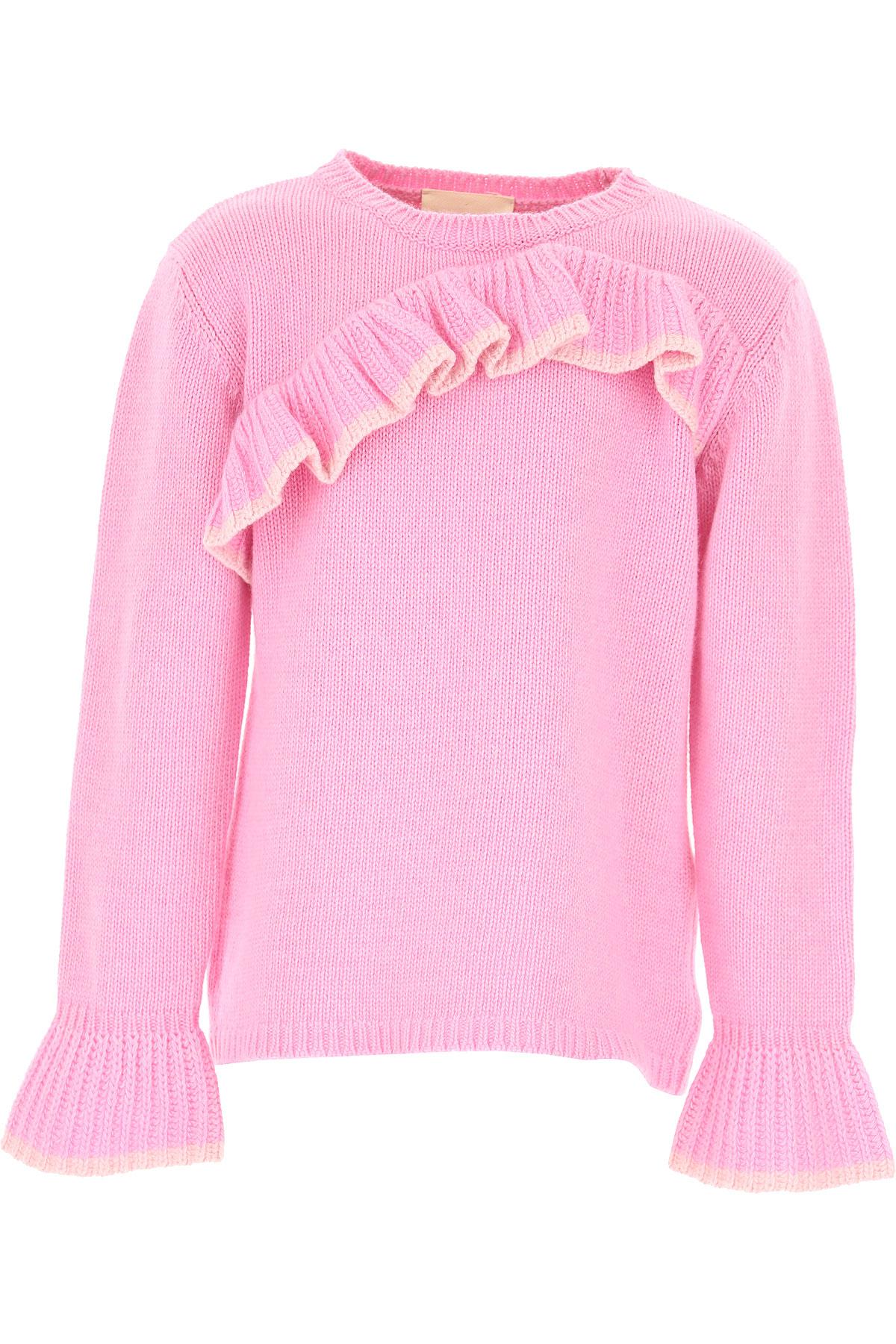 Image of Douuod Kids Sweaters for Girls, Pink, viscosa, 2017, 10Y 14Y 2Y 4Y 5Y 6Y 8Y