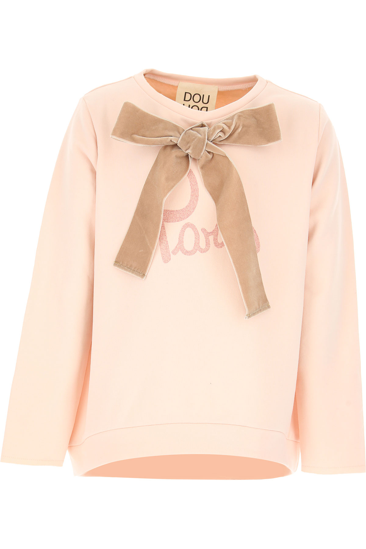 Image of Douuod Kids Sweatshirts & Hoodies for Girls, Pink, Cotton, 2017, 10Y 14Y 2Y 4Y 6Y 8Y
