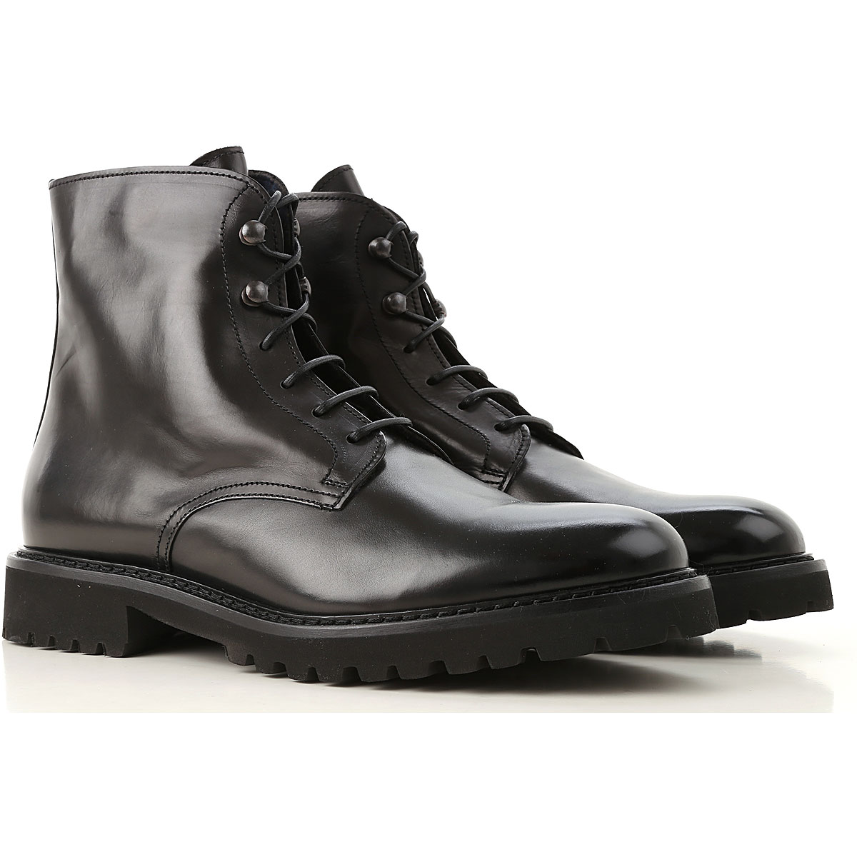 Image of Doucals Boots for Men, Booties, Black, Leather, 2017, 10 10.5 7.5 8 9