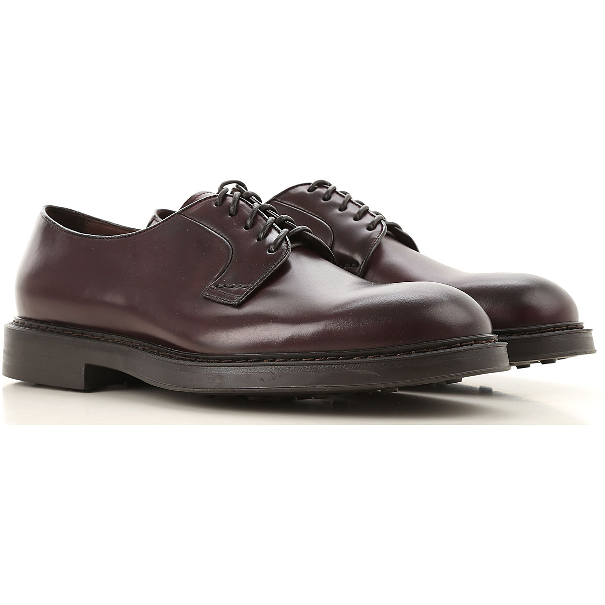 Doucals Lace Up Shoes for Men Oxfords, Derbies and Brogues On Sale, Dark Bordeaux, Leather, 2019, 10 10.25 6.5 7 7.5 8.5 9