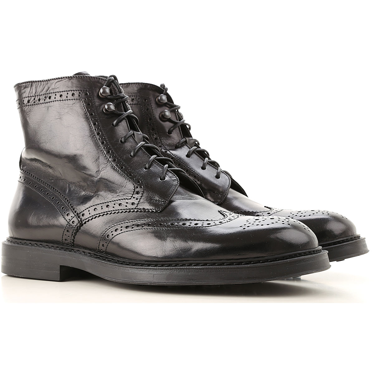 Doucals Boots for Men, Booties, Black, Leather, 2019, 10 10.5 8 9