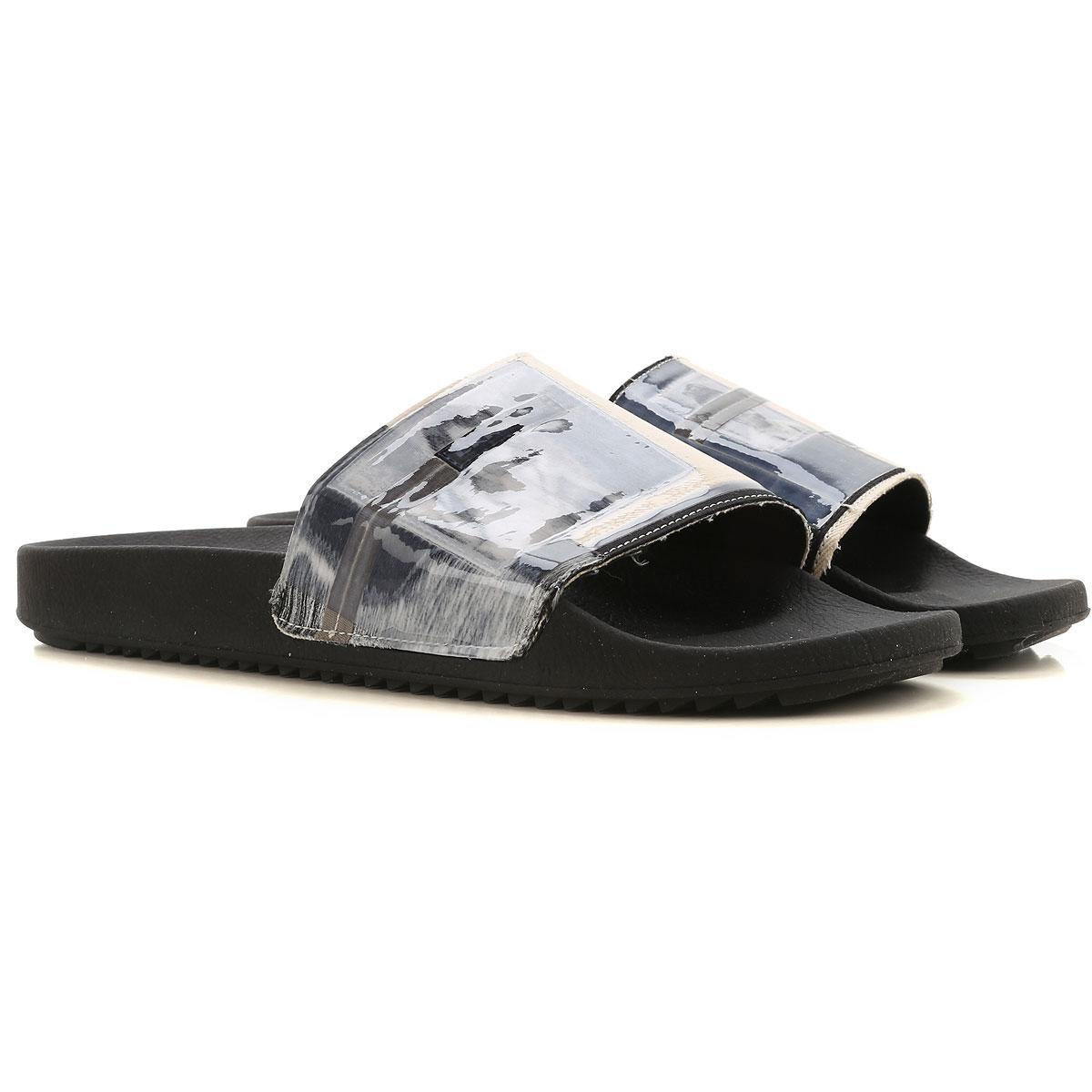 Rick Owens DRKSHDW Sandals for Men On Sale, Black, PVC, 2019, 10 10.5 7.5 8 9