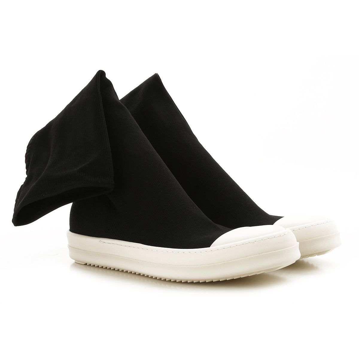 Image of Rick Owens DRKSHDW Boots for Men, Booties, Black, polyester, 2017, 10 6.5 8 9