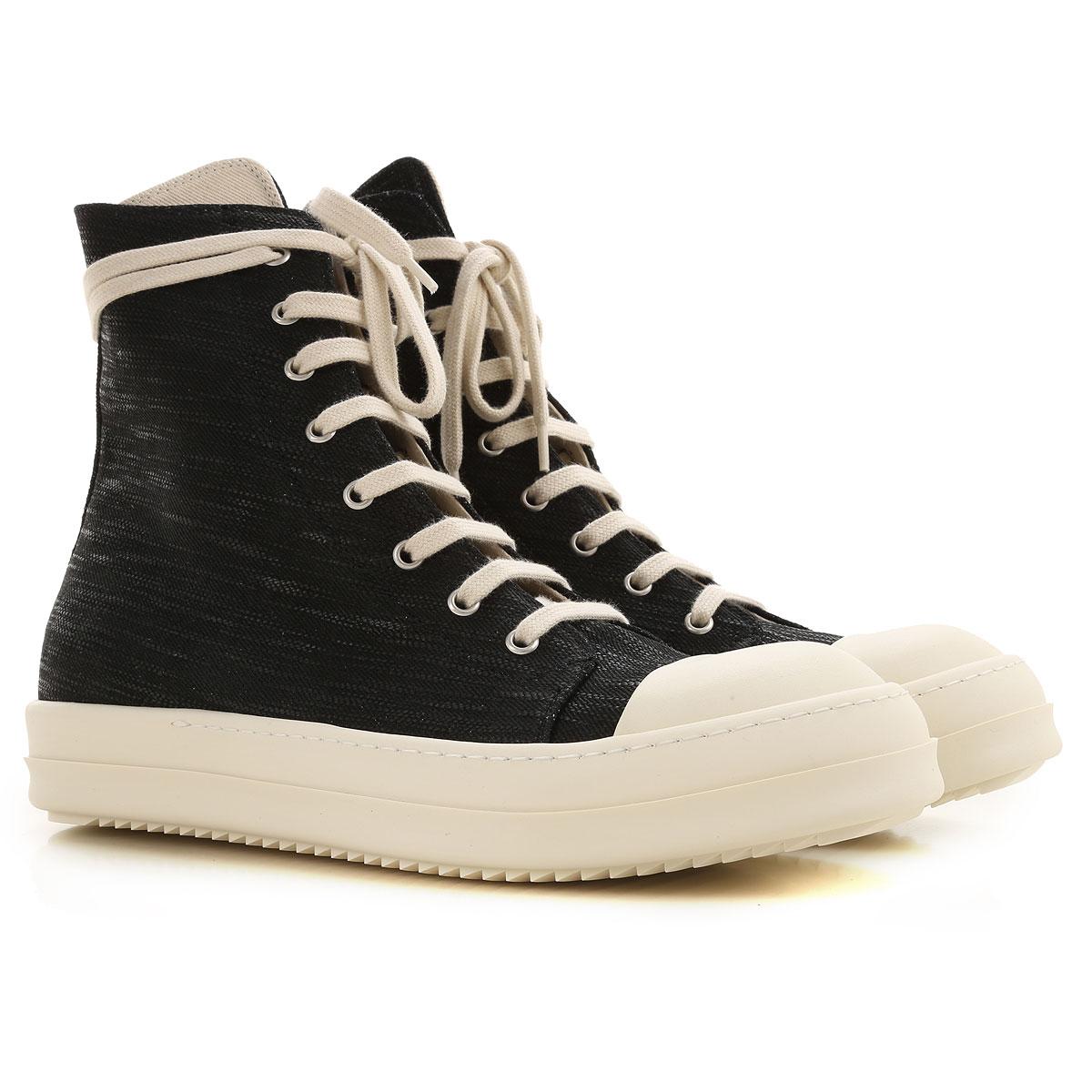 Rick Owens DRKSHDW Sneakers for Men On Sale, Black, poliammide, 2019, 11.5 7.5 8