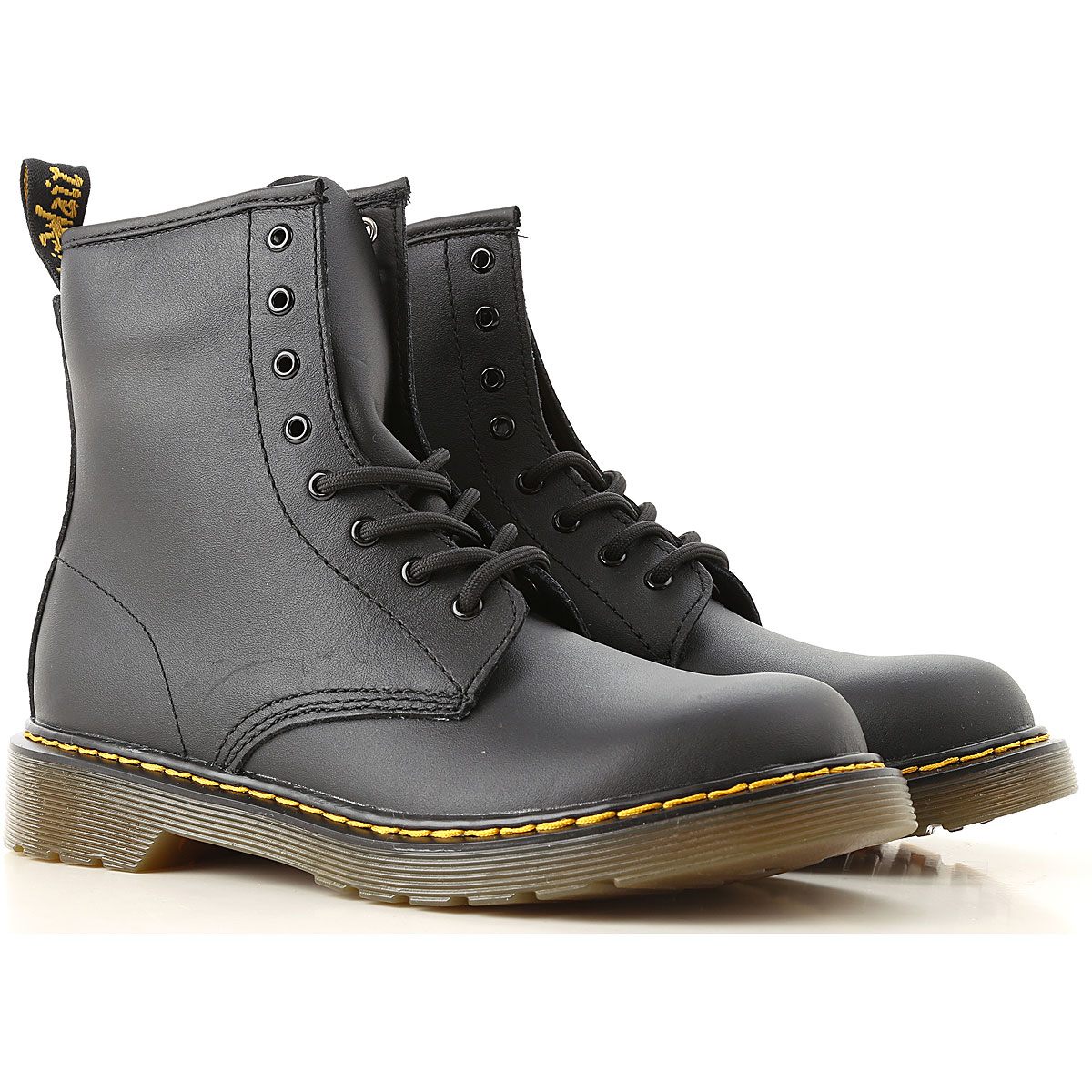 Image of Dr. Martens Boots, Black, Calf Leather, 2017, 37 38