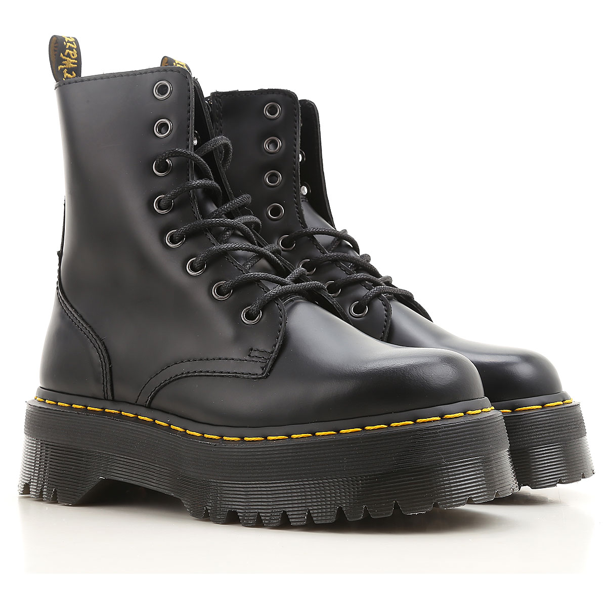Dr. Martens Boots for Women, Booties, Black, Leather, 2019, 10
