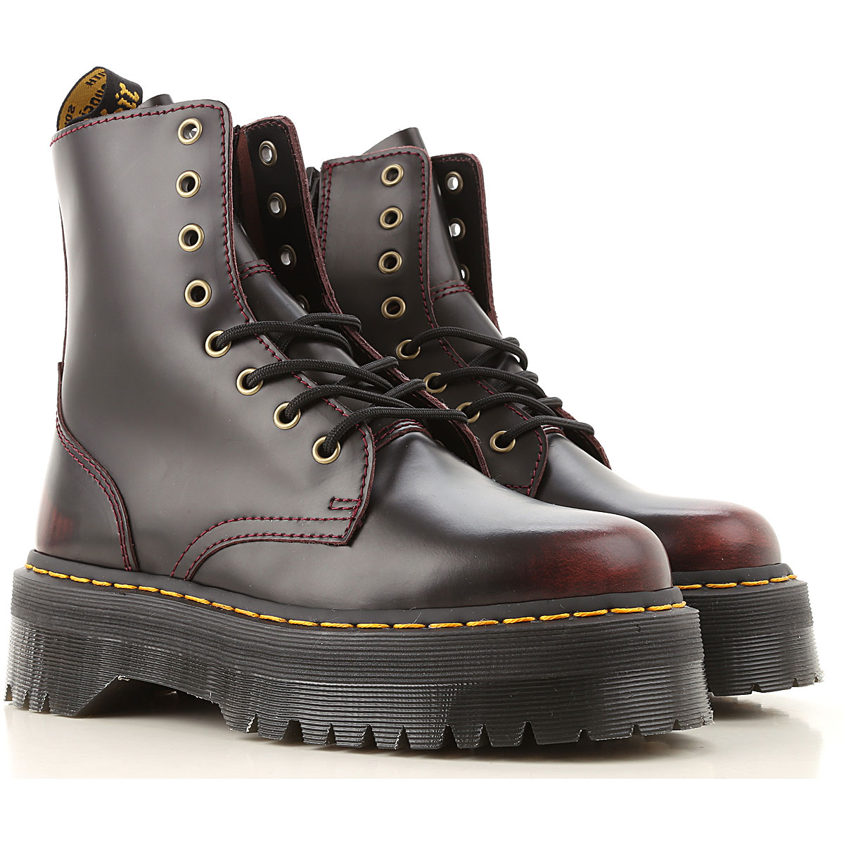 Dr. Martens Boots for Women, Booties On Sale, Black, Leather, 2019, US 8.5 - UK 6.5 - EU 40 US 8 - UK 6 - EU 39 US 7 - UK 5 - EU 38 US 9 • UK 7.5 â€