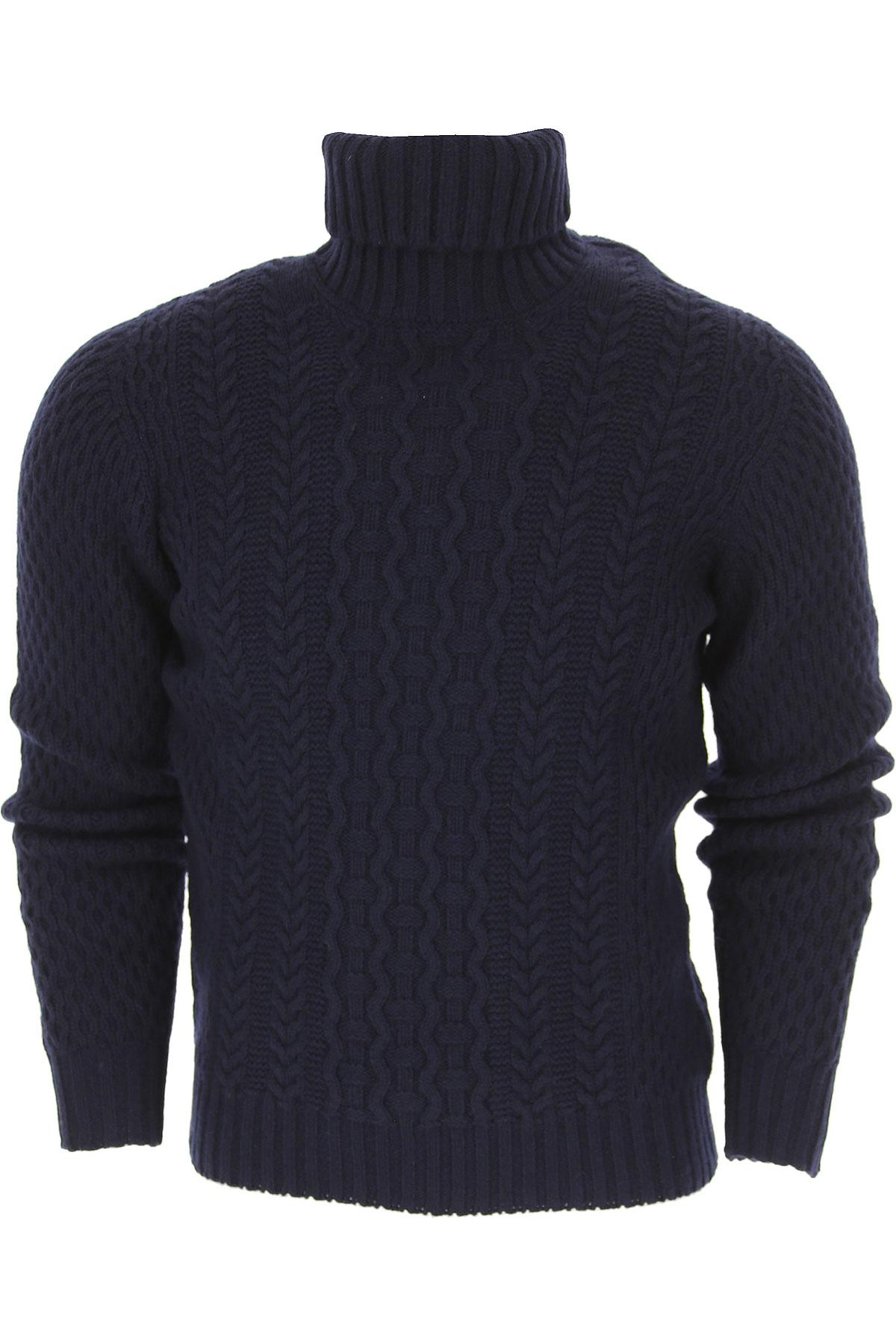 Image of Drumohr Sweater for Men Jumper, Dark Blue, Wool, 2017, L M S XL