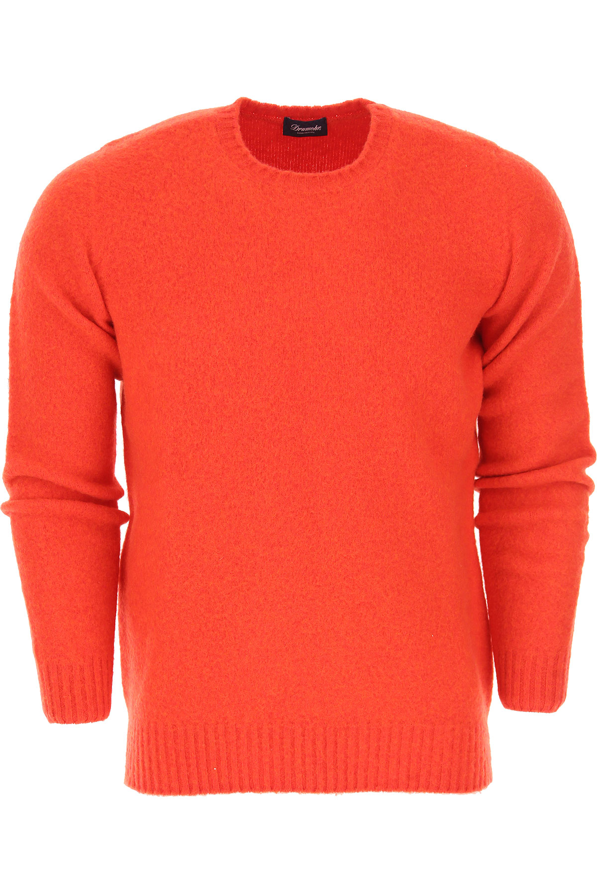 Image of Drumohr Sweater for Men Jumper, Brick Red, Wool, 2017, L M S XL