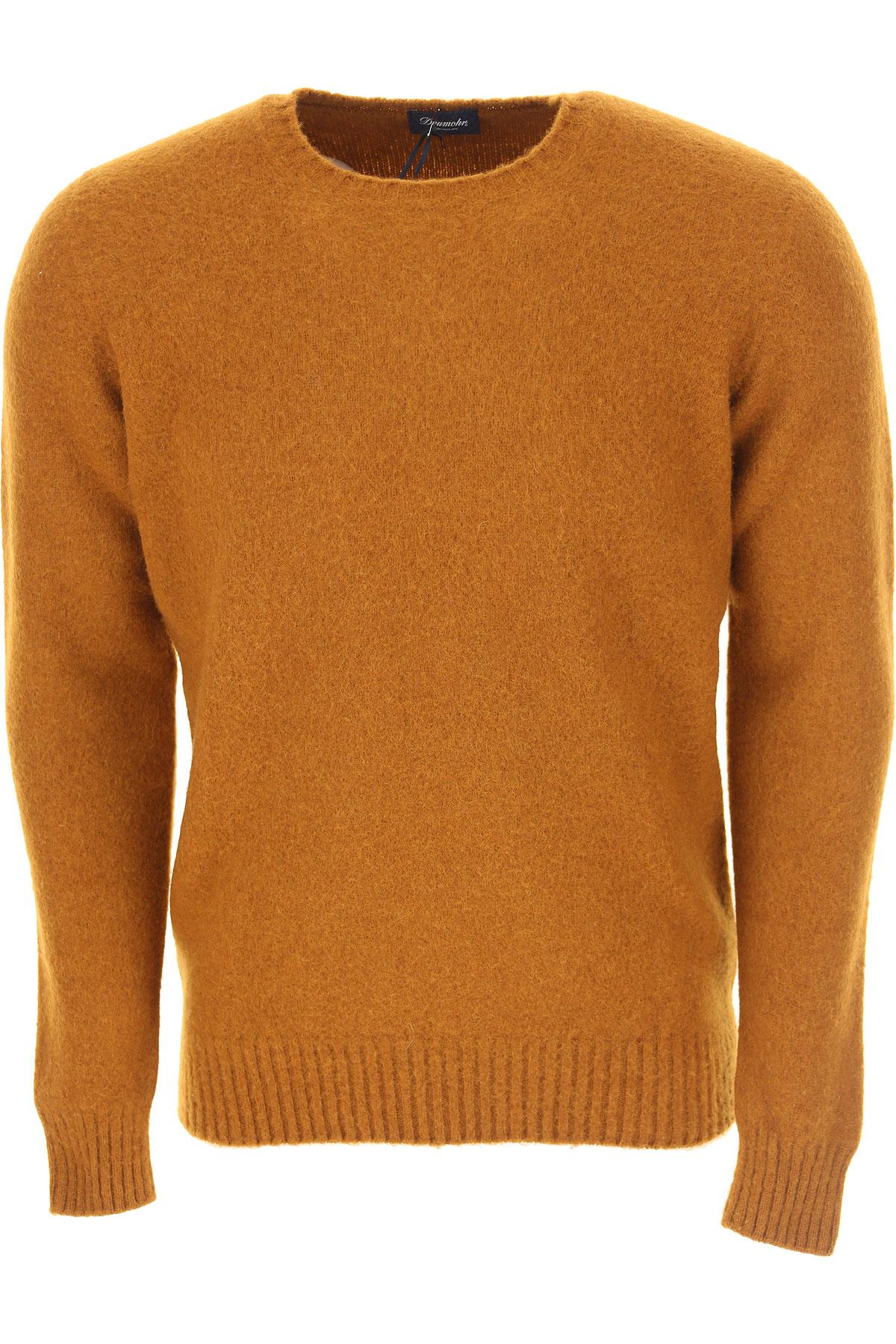 Image of Drumohr Sweater for Men Jumper, Biscuit, Wool, 2017, L M S XL