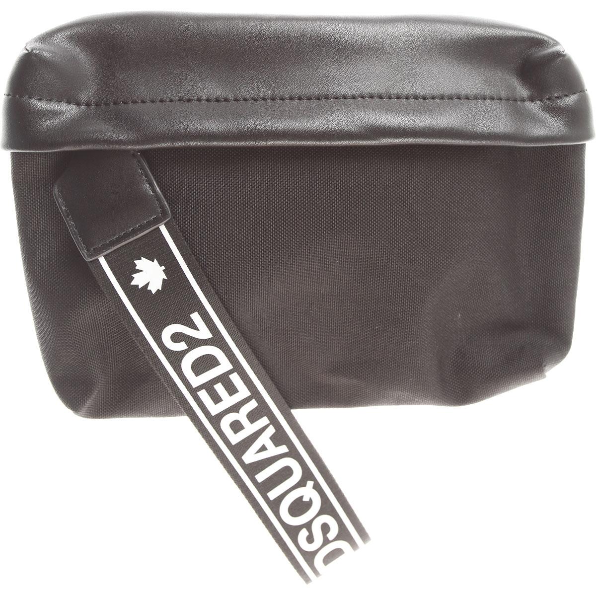Image of Dsquared2 Shoulder Bags, Black, Nylon, 2017