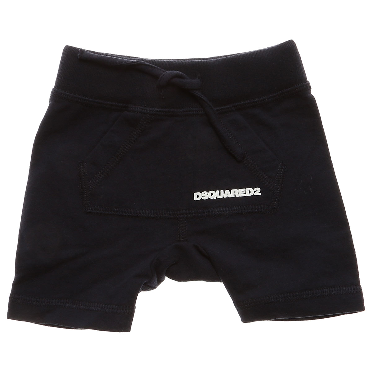 Image of Dsquared2 Baby Shorts for Boys On Sale, Blue, Cotton, 2017, 36