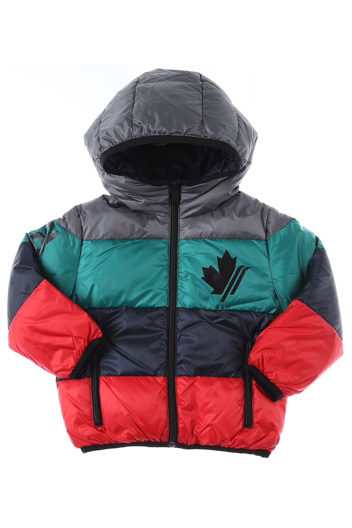 Dsquared2 Baby Down Jacket for Boys On Sale, Multicolor, polyester, 2019, 12 M 18M