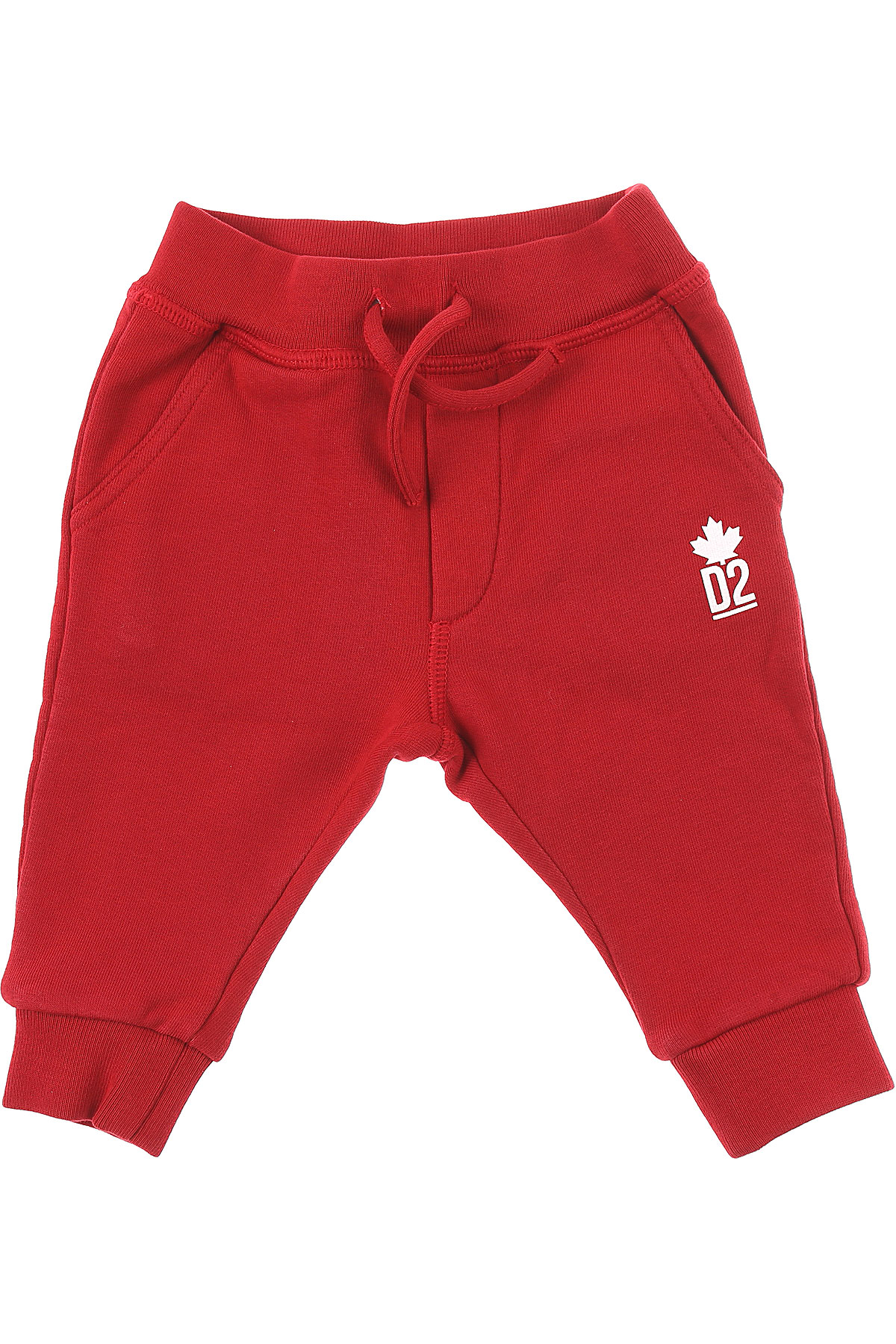 Dsquared2 Baby Sweatpants for Boys On Sale, Red, Cotton, 2019, 12 M 18 M 2Y 3Y 6M 9 M