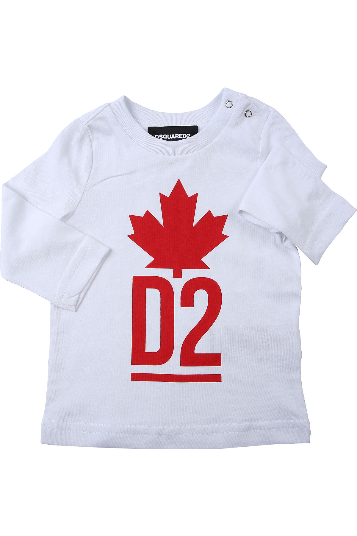Dsquared2 Baby T-Shirt for Boys On Sale, White, Cotton, 2019, 12 M 18M 2Y 3Y 6M 9M