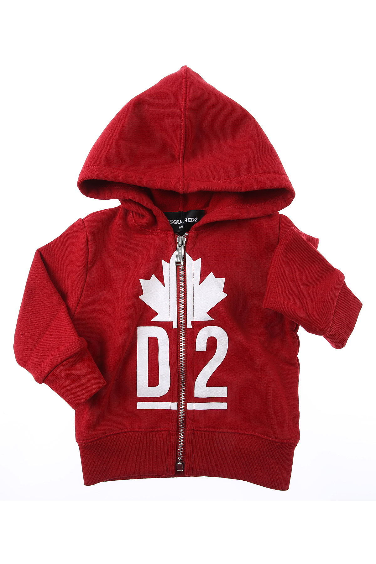 Dsquared2 Baby Sweatshirts & Hoodies for Boys On Sale, Red, Cotton, 2019, 12 M 18M 2Y 3Y 6M 9M