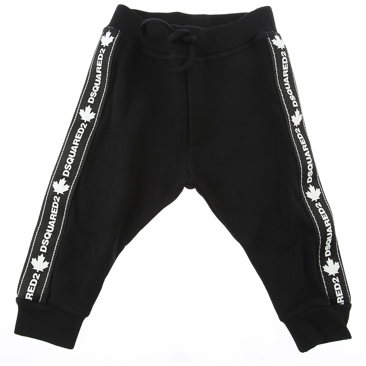 Dsquared2 Baby Sweatpants for Boys On Sale, Black, Cotton, 2019, 18 M 3Y