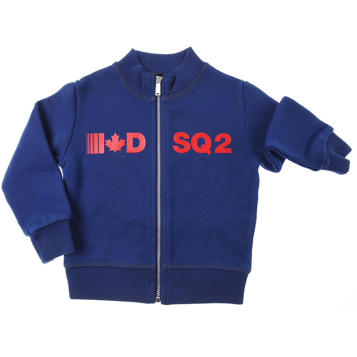 Dsquared2 Baby Sweatshirts & Hoodies for Boys On Sale, Electric Blue, Cotton, 2019, 12 M 6M 9M
