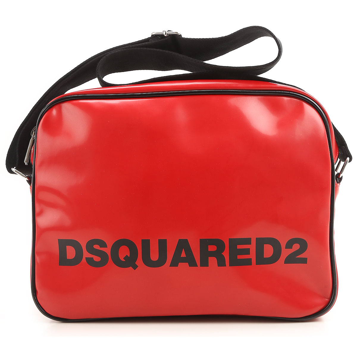 Image of Dsquared2 Briefcases On Sale in Outlet, Red, Leather, 2017