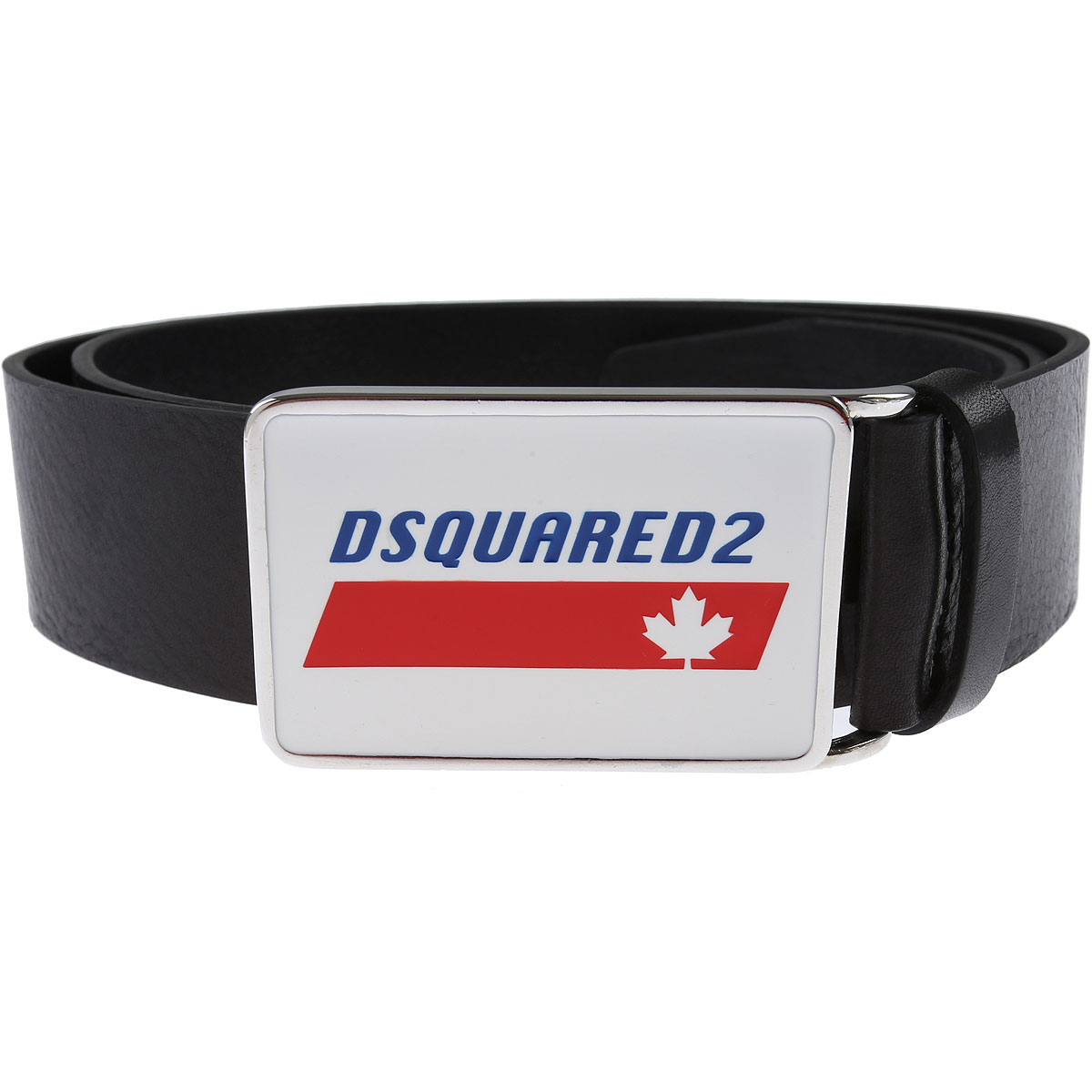 Dsquared2 Belts On Sale, Black, Leather, 2019, 95 cm 100 cm 110 cm
