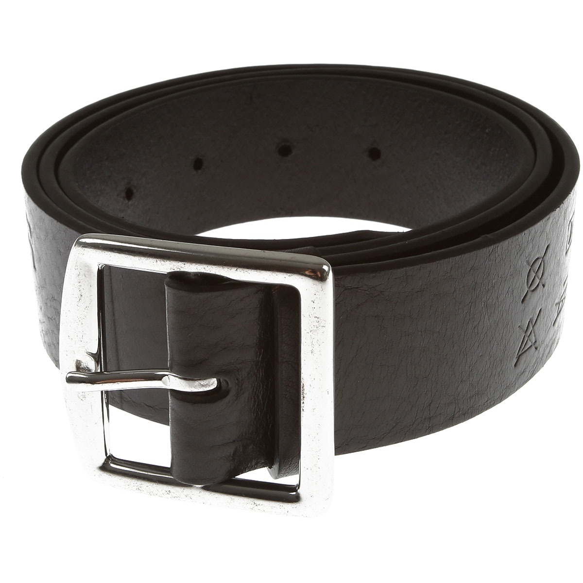 Dsquared2 Belts On Sale, Black, Leather, 2019, 95 cm 100 cm