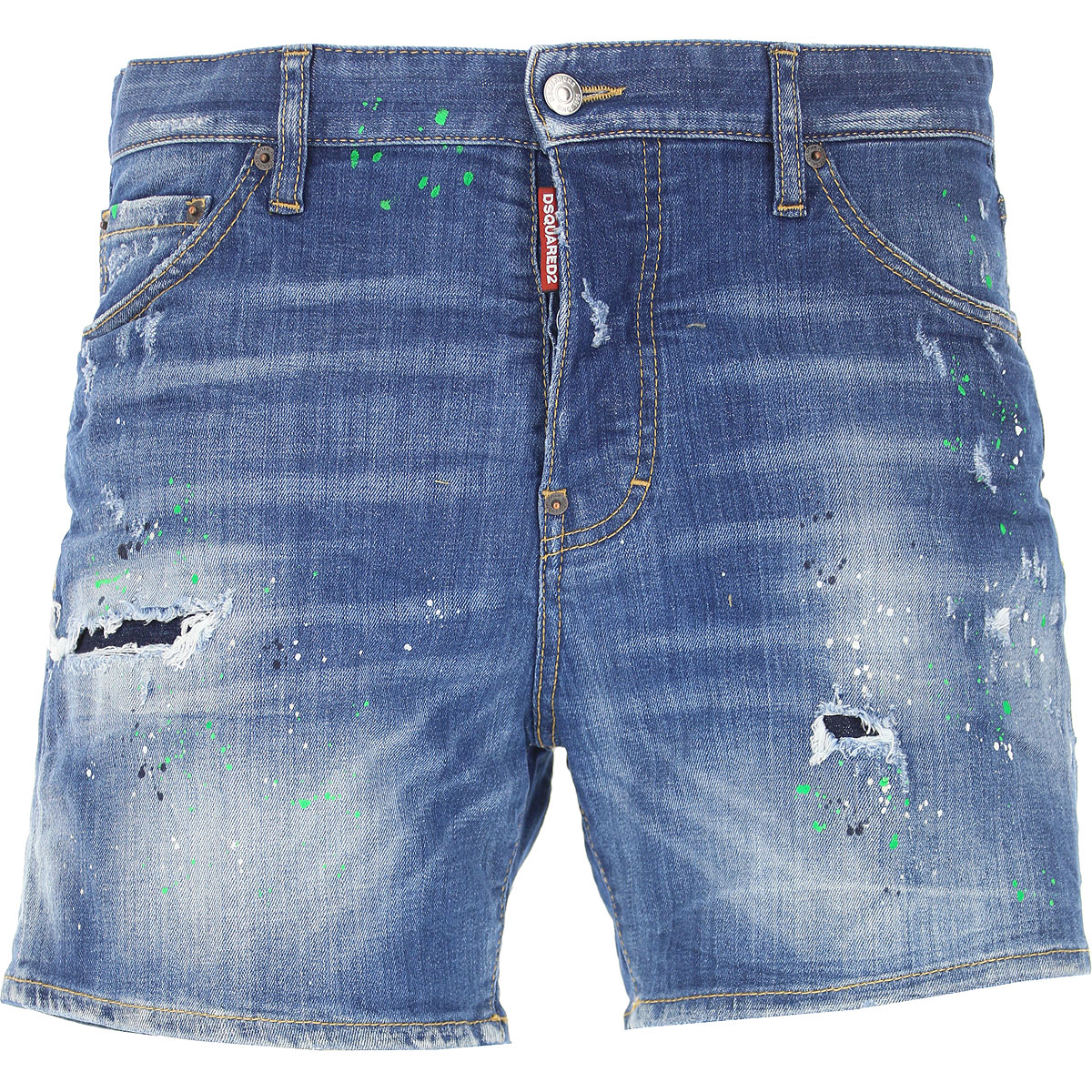 Dsquared2 Jeans, Denim Blue, Cotton, 2017, 28 30 32 34