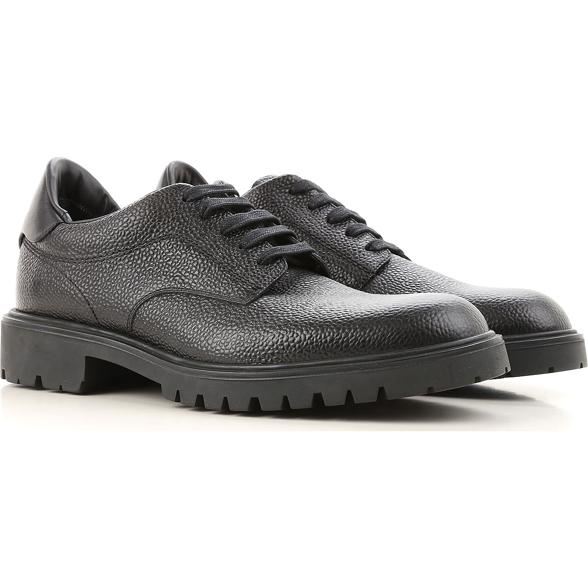 Image of Dsquared2 Brogue Shoes On Sale in Outlet, Black, Leather, 2017, 10 10.5 7.5 8.5 9