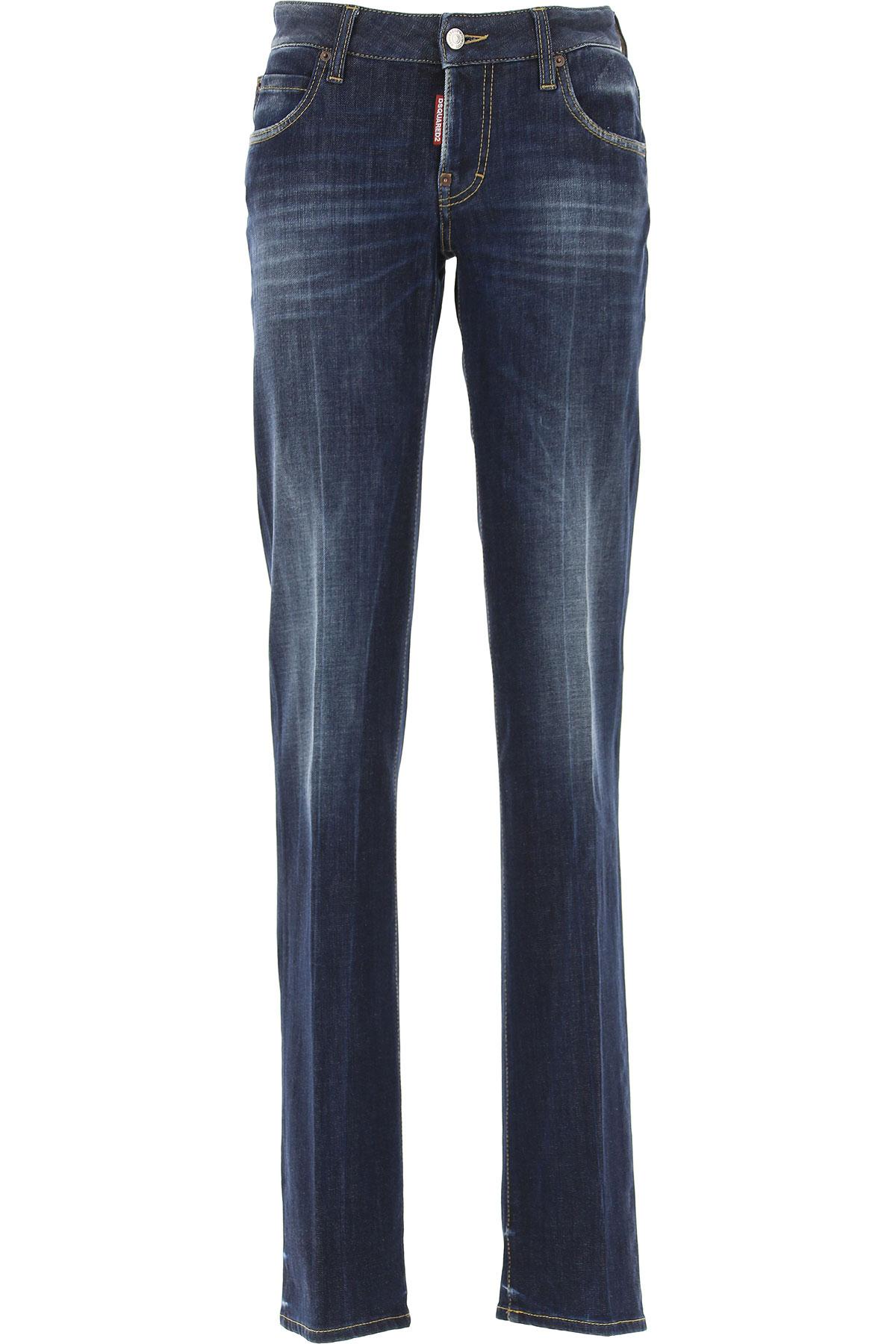 Dsquared2 Jeans On Sale, Blue Denim, Cotton, 2017, 22 24 26 28 34