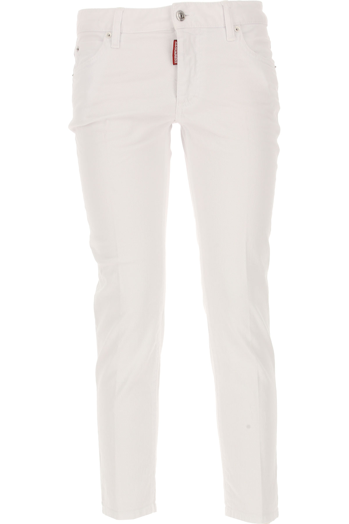 Dsquared2 Jeans, White, Cotton, 2017, 24 26 28 30