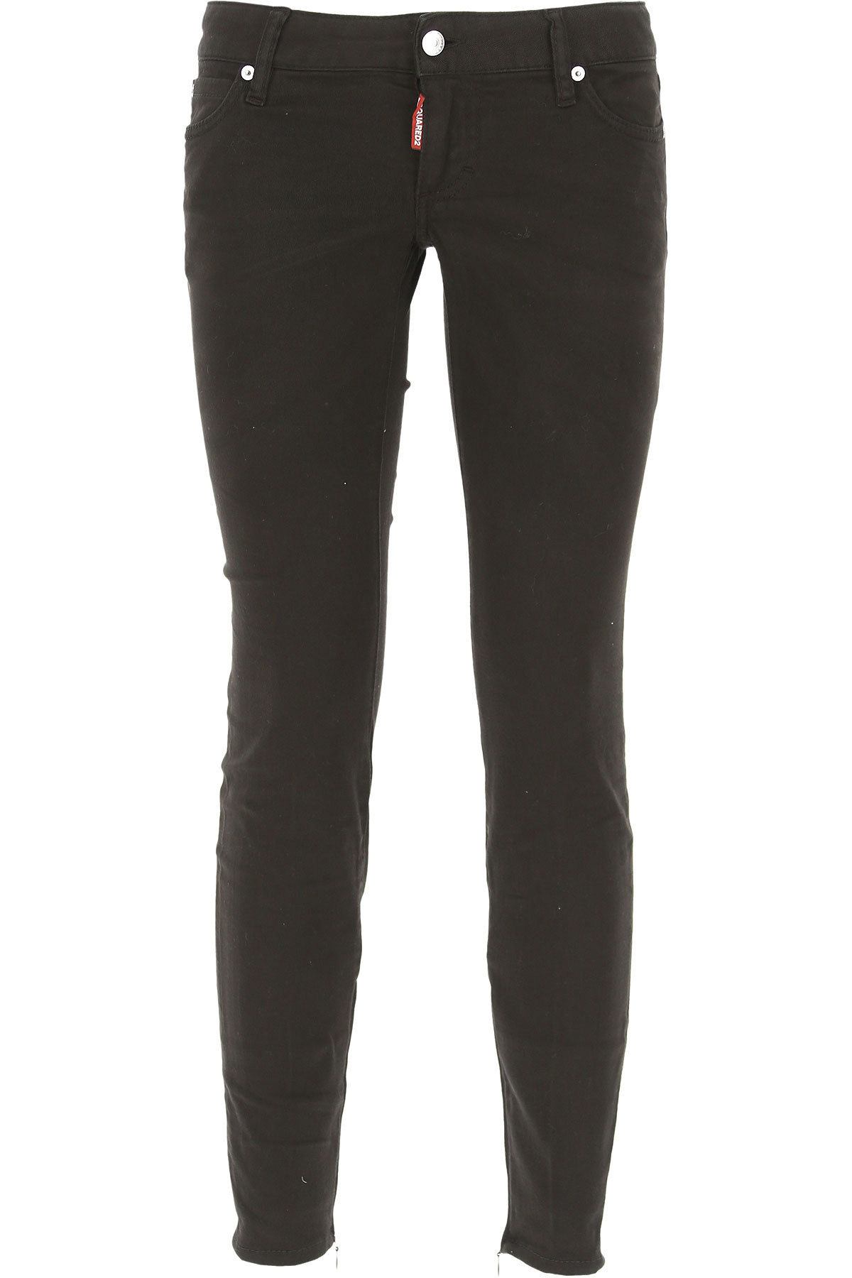 Dsquared2 Jeans On Sale in Outlet, Black, Cotton, 2017, 24 4