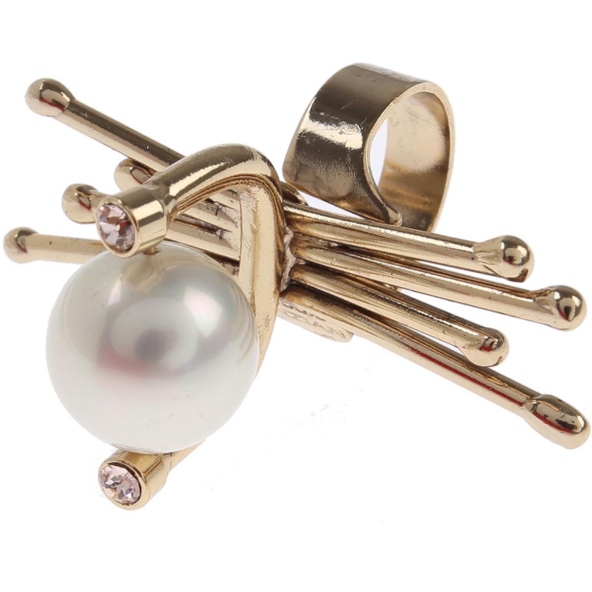 Dueci Bijoux Ring for Women On Sale, Gold, Brass, 2019