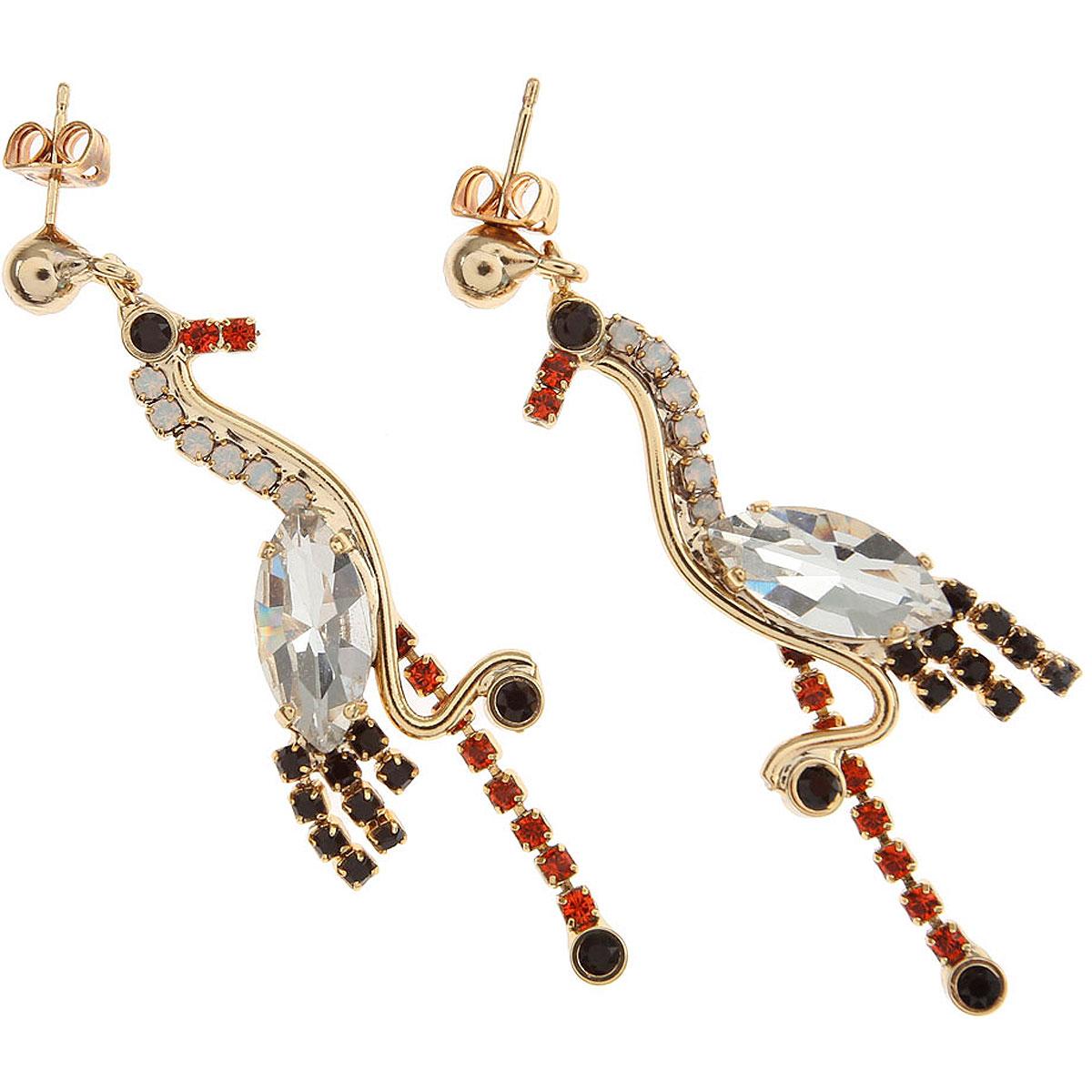 Dueci Bijoux Earrings for Women On Sale, Brass, Brass, 2019
