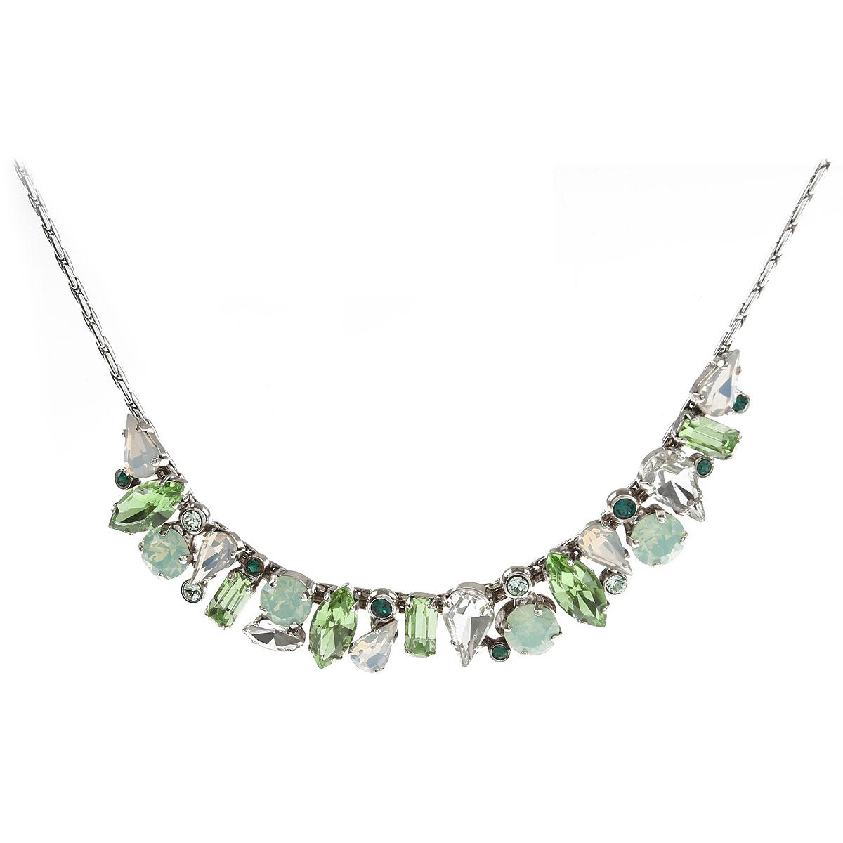 Dueci Bijoux Necklaces On Sale, Green, Silver, 2019