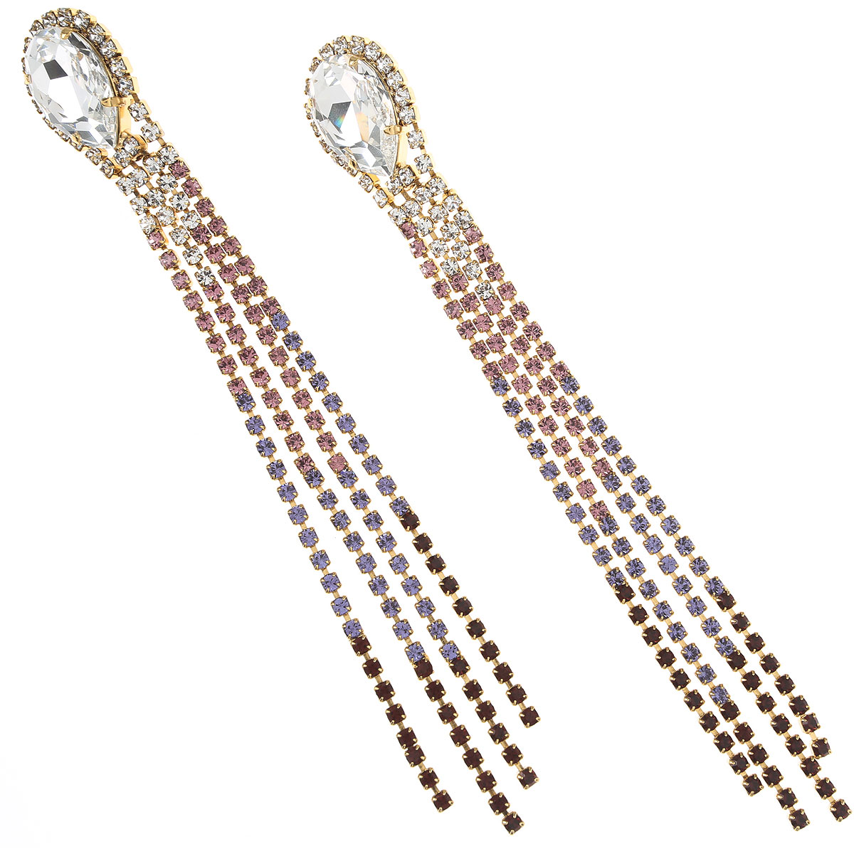 Dueci Bijoux Earrings for Women On Sale, Crystal, Crystals, 2019