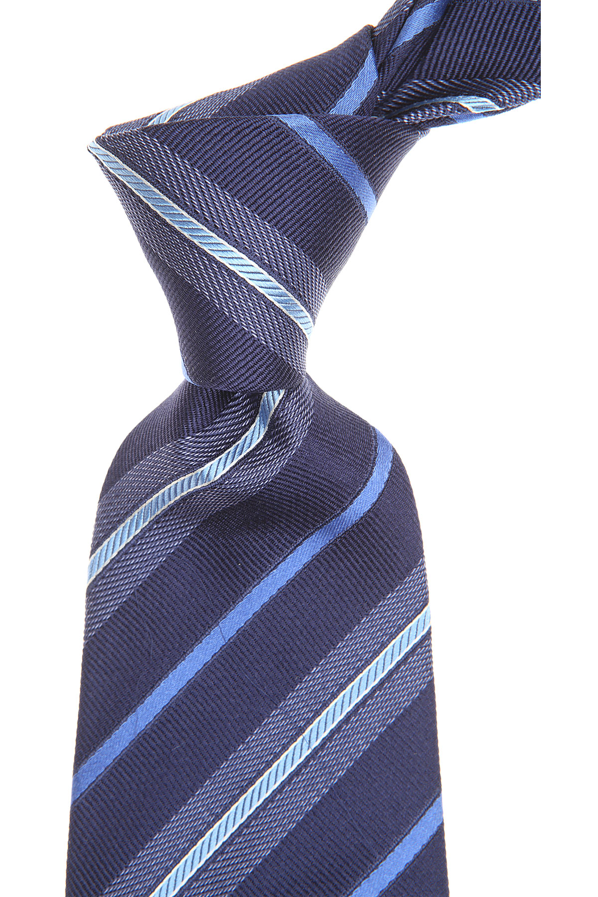 S.T. Dupont Ties On Sale, Midnight Blue, Silk, 2019