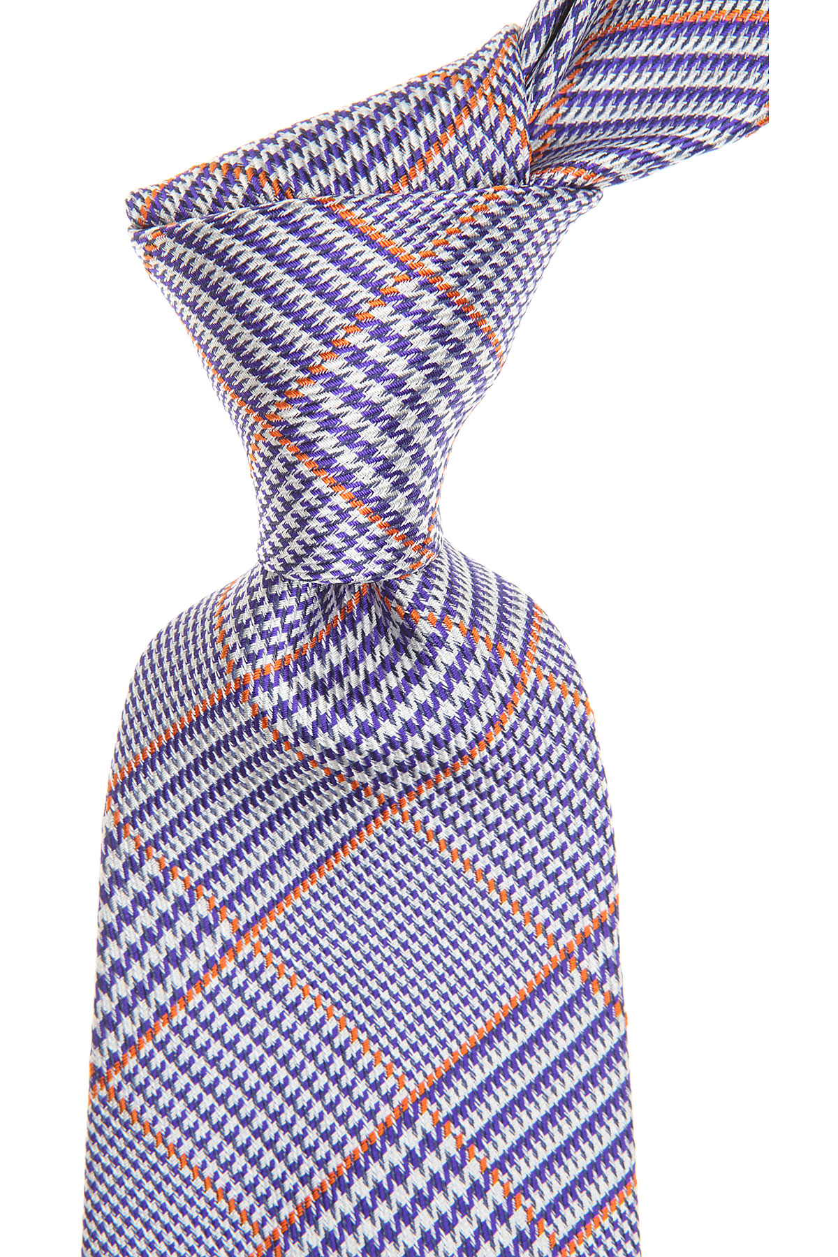 S.T. Dupont Ties On Sale, Violet Blue, Silk, 2019