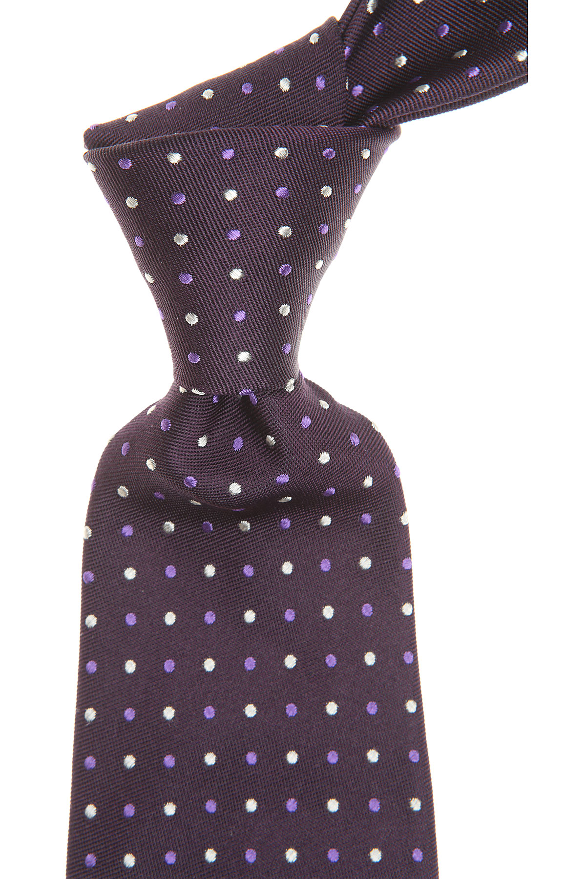 S.T. Dupont Ties On Sale, Dark Plum, Silk, 2019