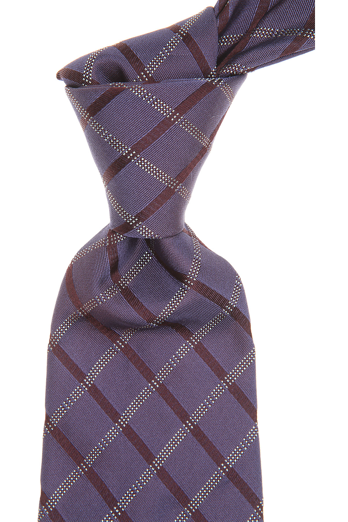 S.T. Dupont Ties On Sale, Plum, Silk, 2019
