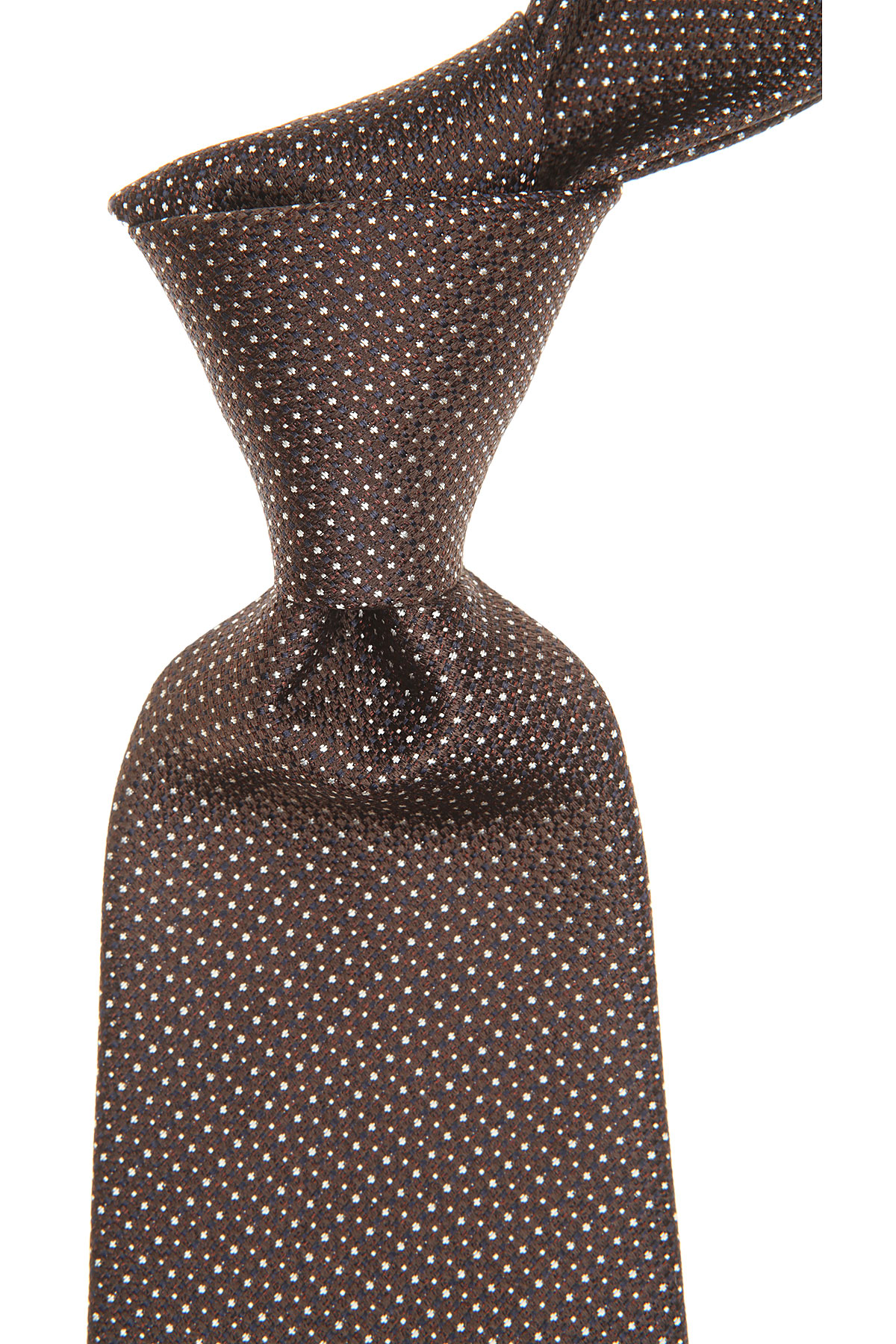 S.T. Dupont Ties On Sale, Brown, Silk, 2019