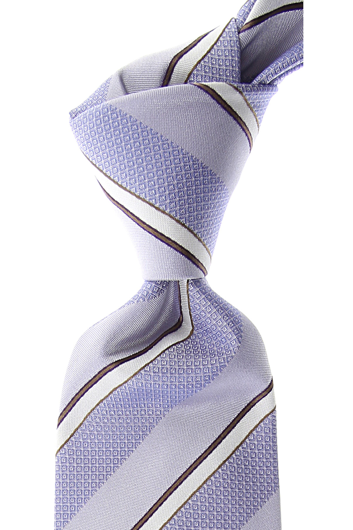 S.T. Dupont Ties On Sale, Lilac, Silk, 2019