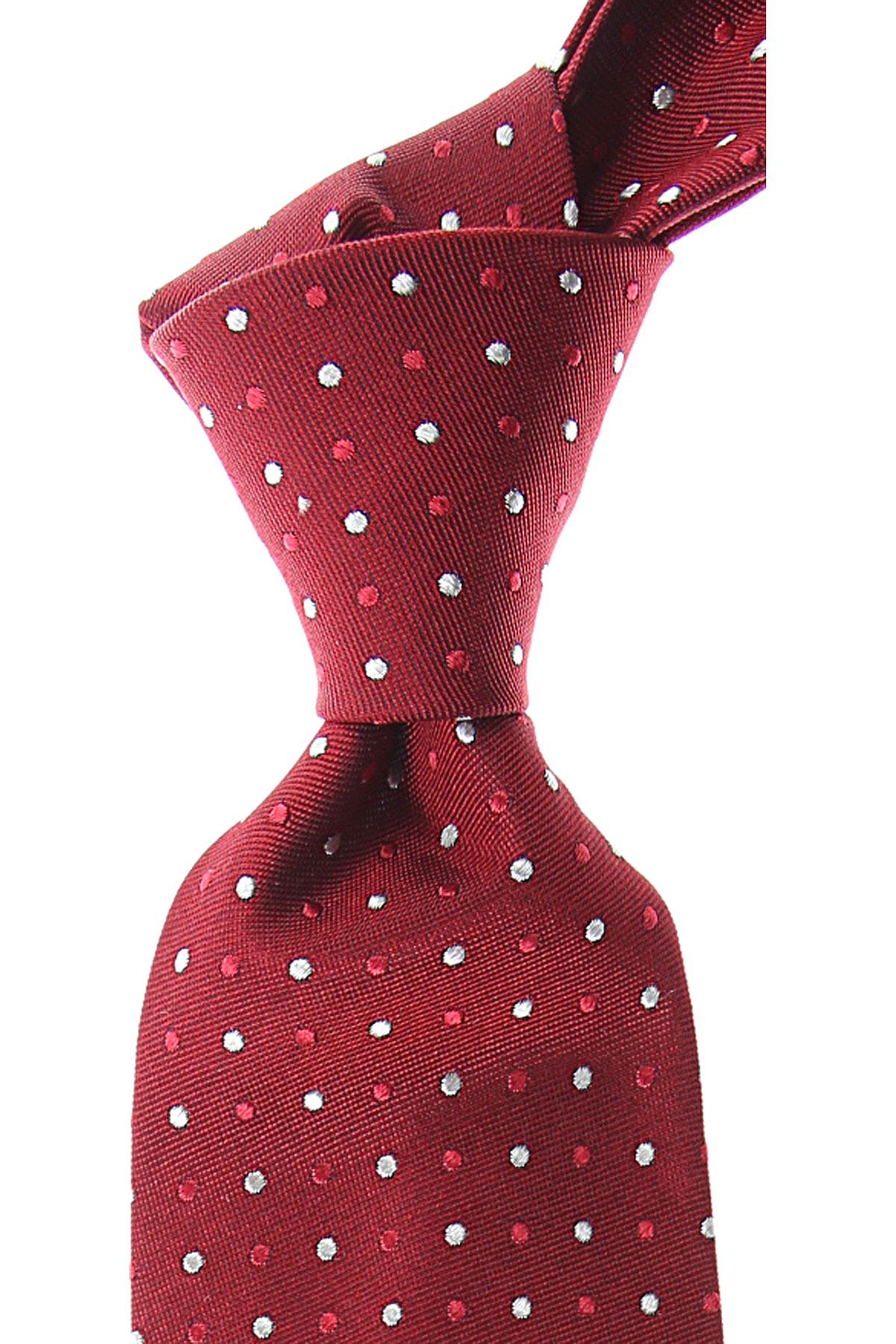 S.T. Dupont Ties On Sale, Cardinal Red, Silk, 2019