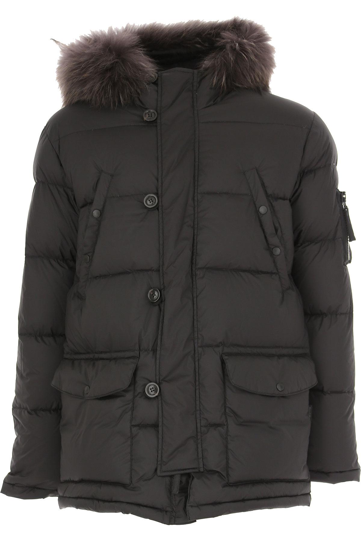 Duvetica Down Jacket for Men, Puffer Ski Jacket On Sale in Outlet, Black, polyamide, 2019, S XL