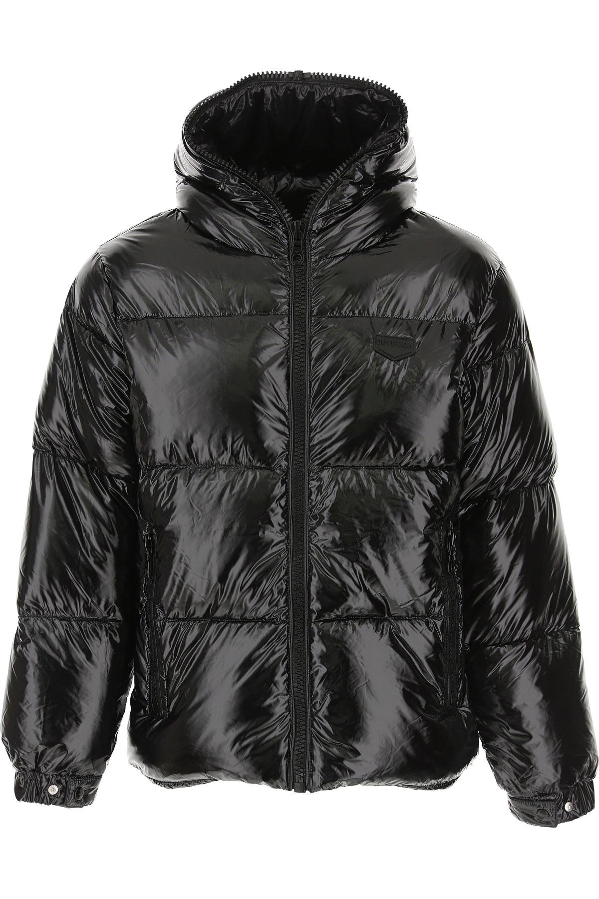 Duvetica Down Jacket for Men, Puffer Ski Jacket On Sale, Black, polyamide, 2019, L M S