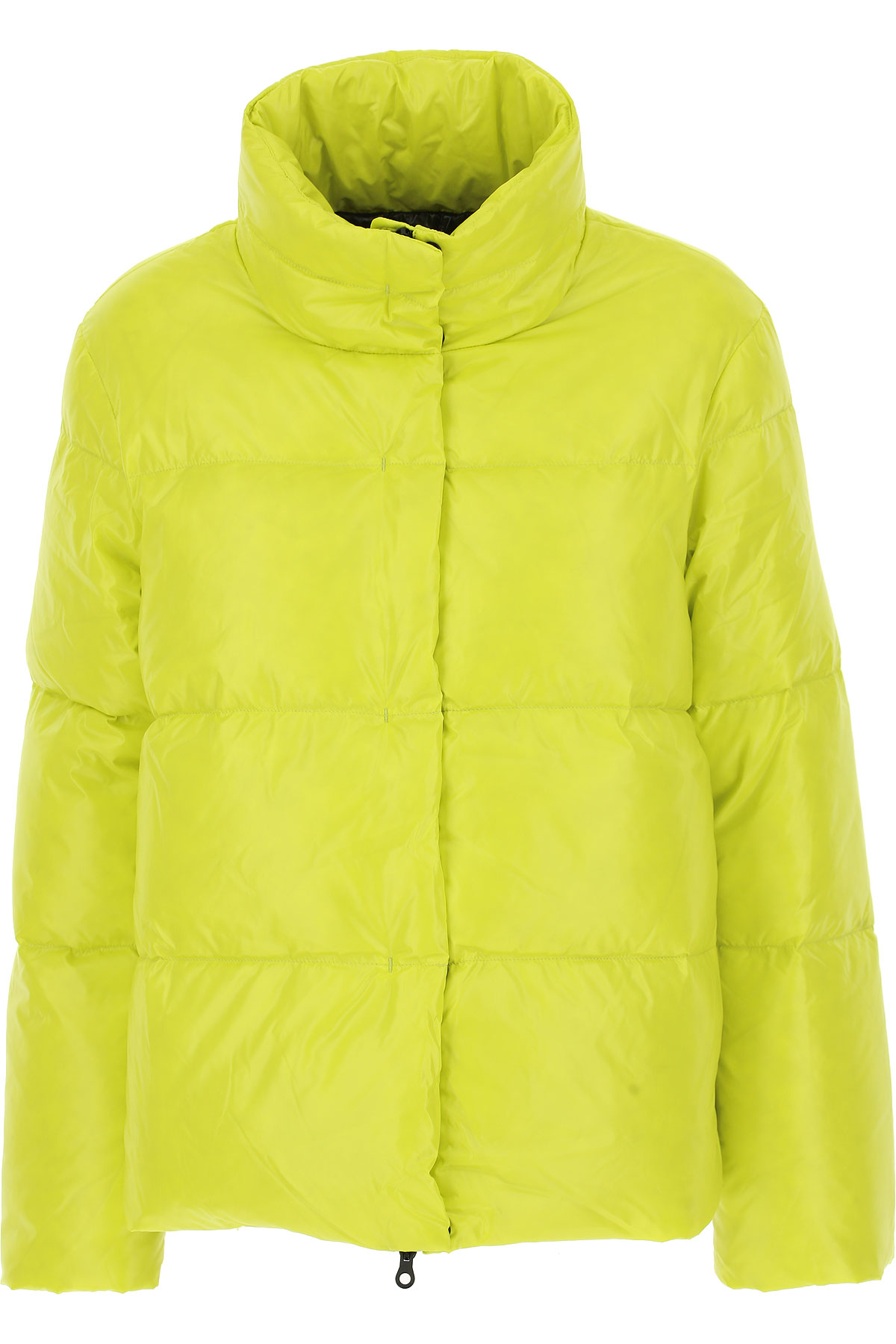 Image of Duvetica Down Jacket for Women, Puffer Ski Jacket, Sulphur, Down, 2017, 4 6 8