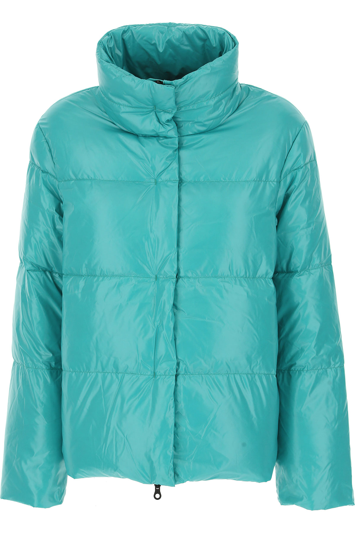 Image of Duvetica Down Jacket for Women, Puffer Ski Jacket, Caraibe Blue, Down, 2017, 4 6 8