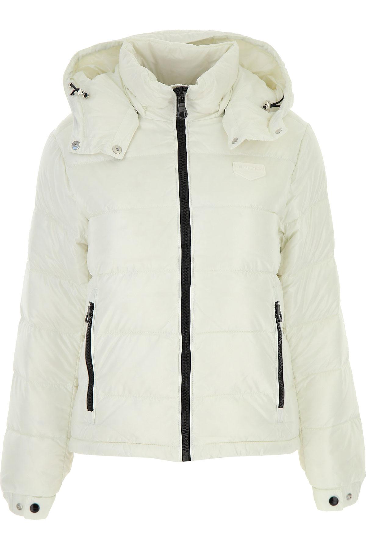 Duvetica Down Jacket for Women, Puffer Ski Jacket On Sale, White, Down, 2019, 2 4 6