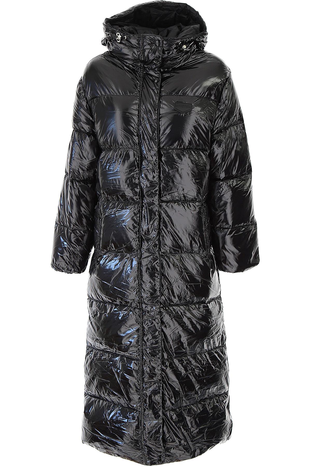 Duvetica Down Jacket for Women, Puffer Ski Jacket On Sale, Black, polyamide, 2019, 2 4 6
